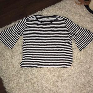 Gap bell sleeve shirt
